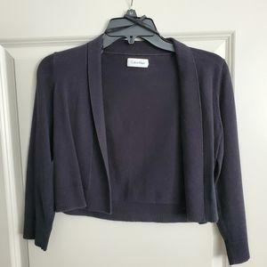 3/4 Sleeve Cropped Cardigan